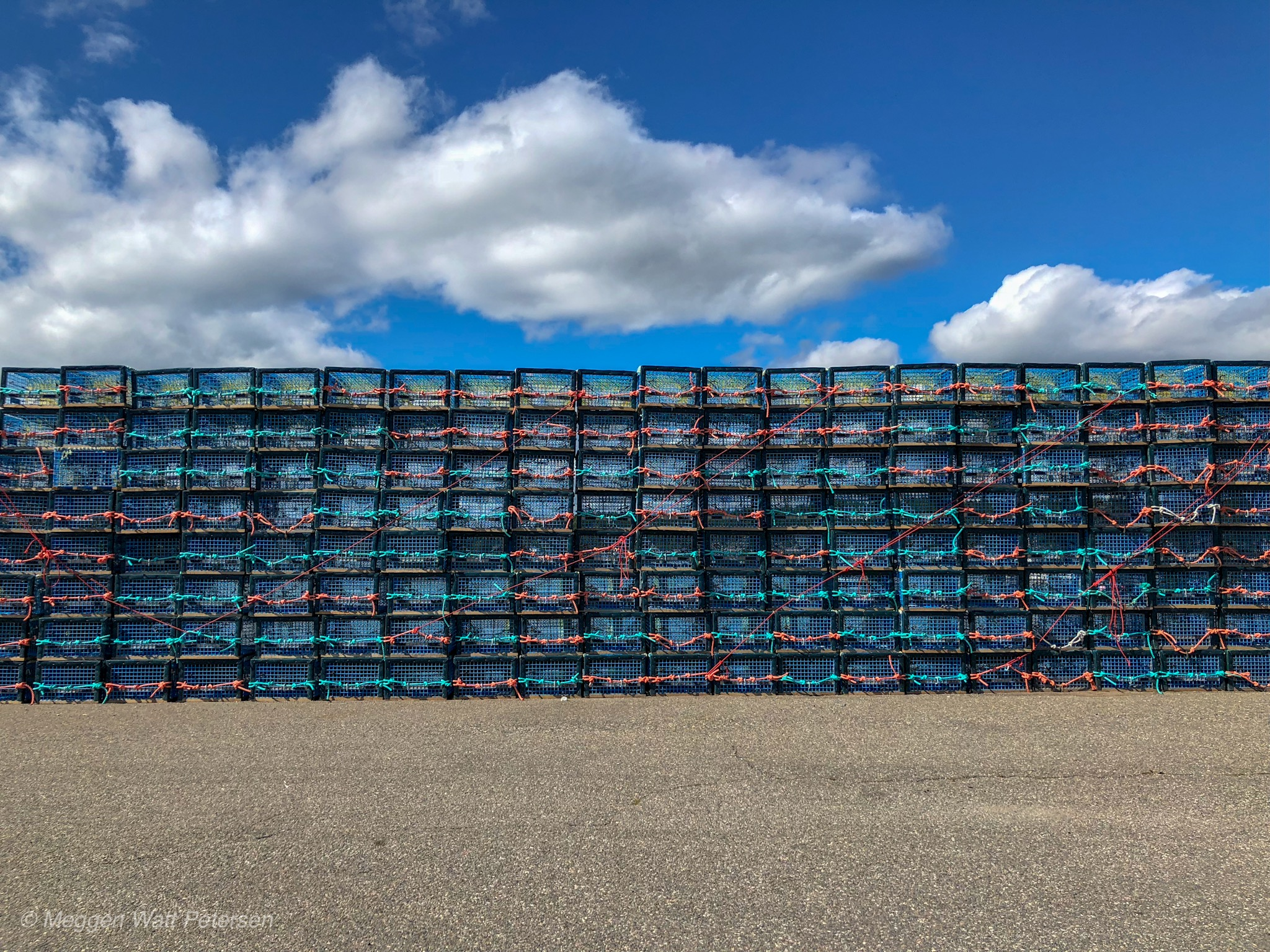 Lobster Pots, Dipper Harbour, New Brunswick