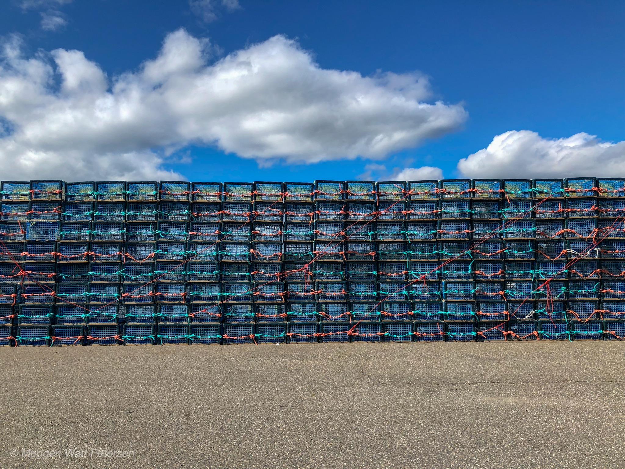Lobster Pots, Dipper Harbour, New Brunswick