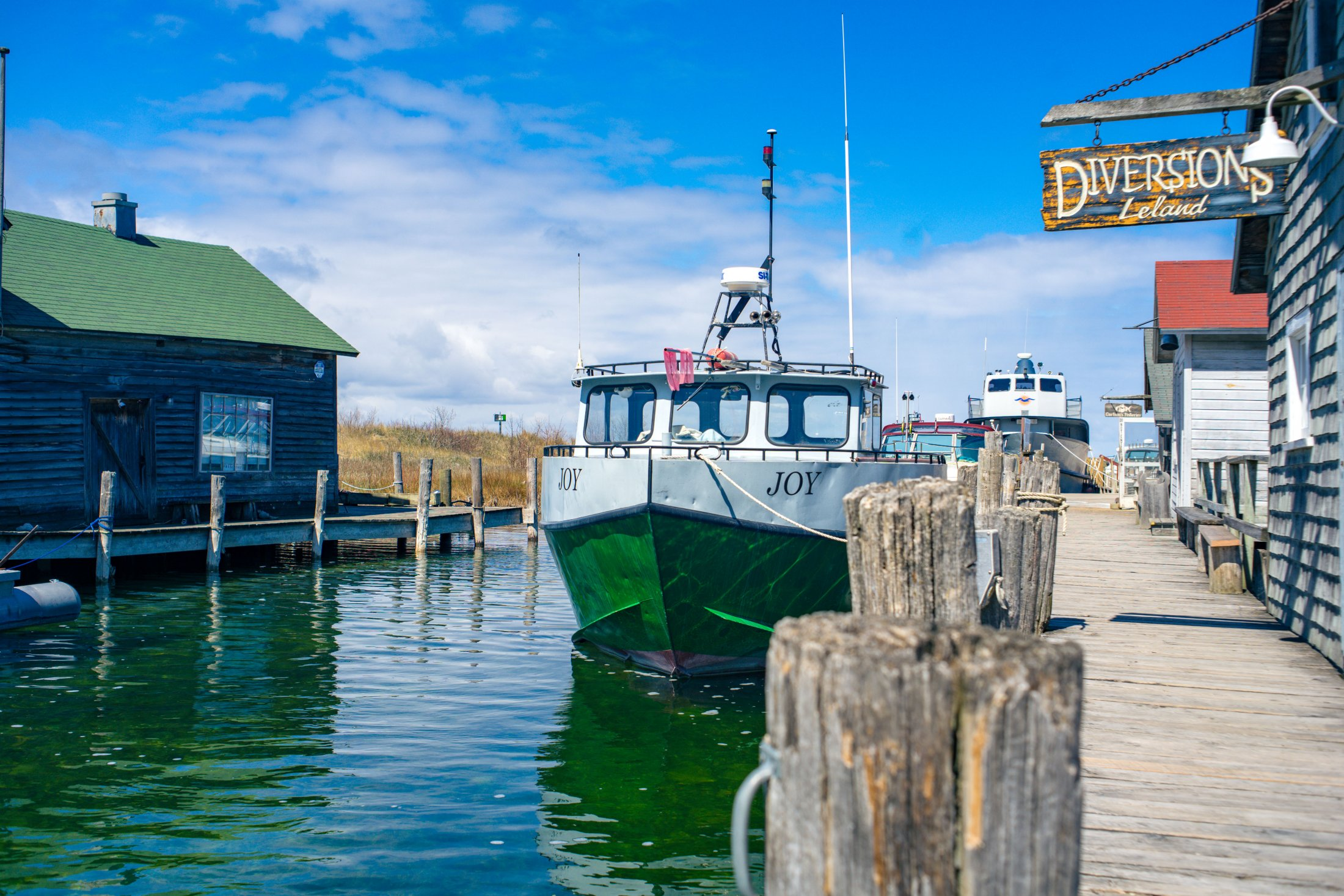 April In Fishtown