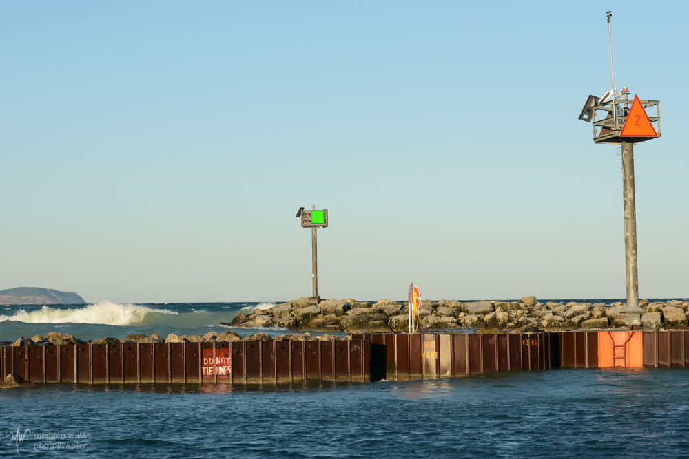 Leland Breakwater Breaking Waves-4393