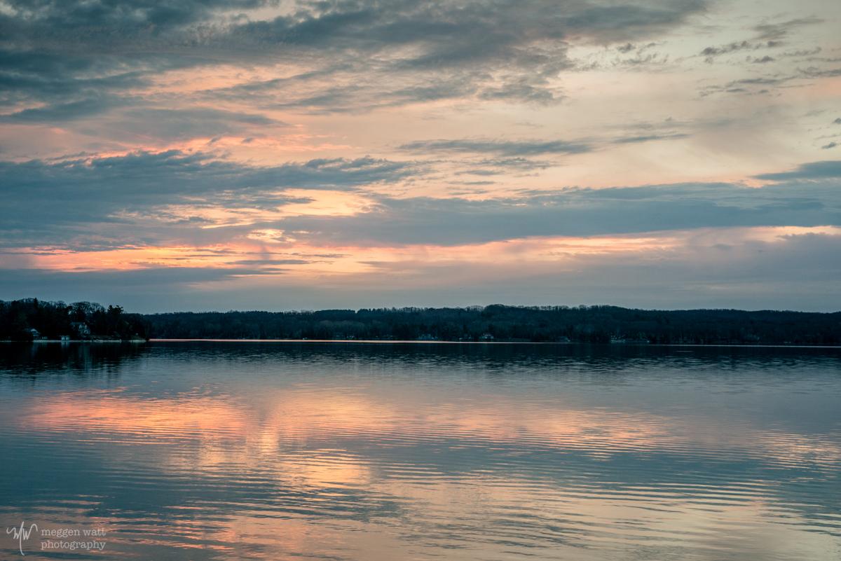 Monday Sunrise Lake Leelanau-9643