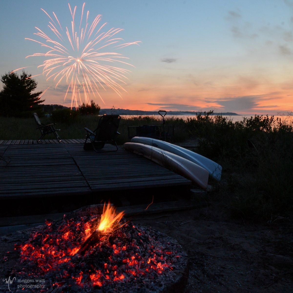 Sleeping Bear Bay Fireworks-3412