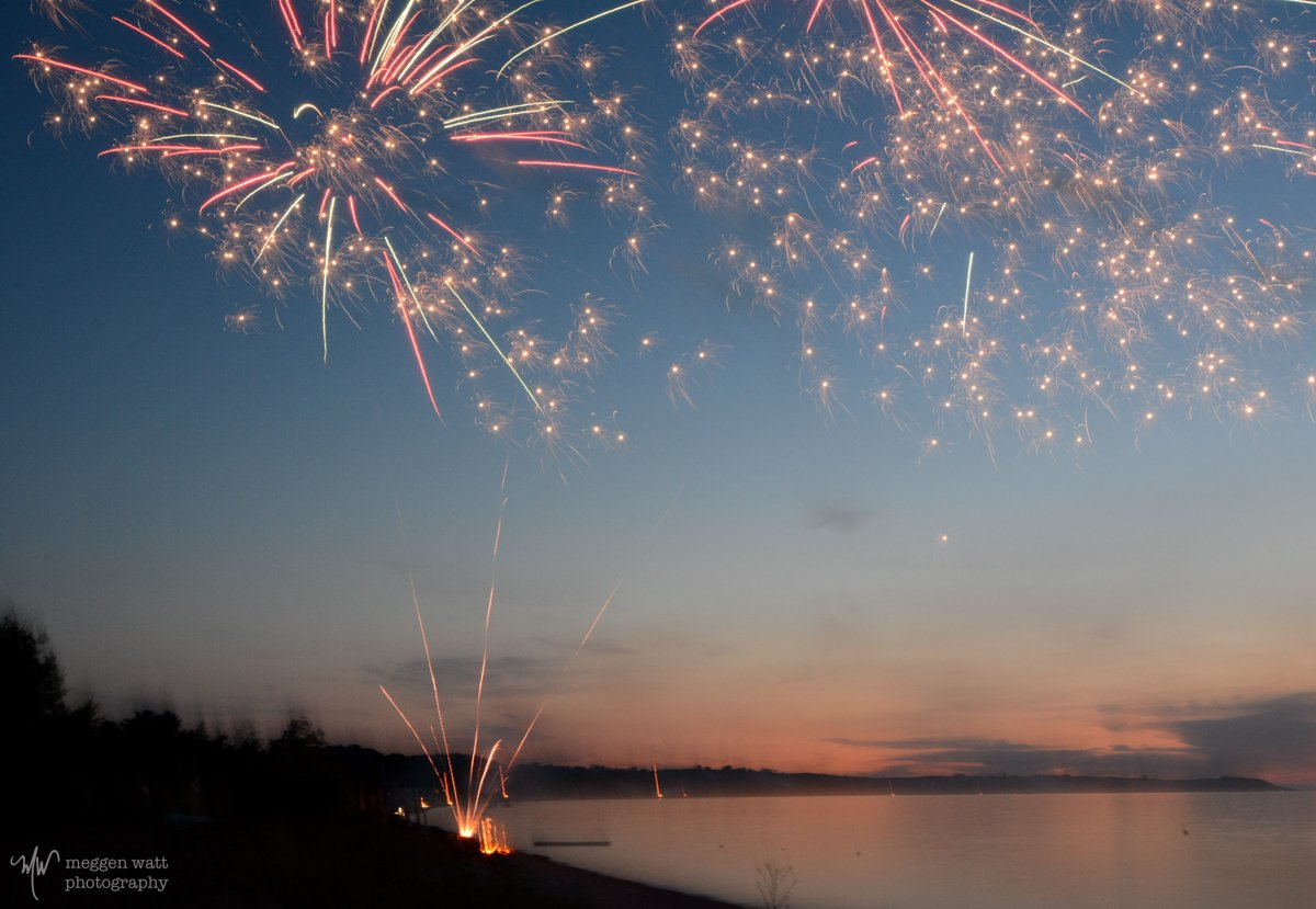 Sleeping Bear Bay Fireworks-3440