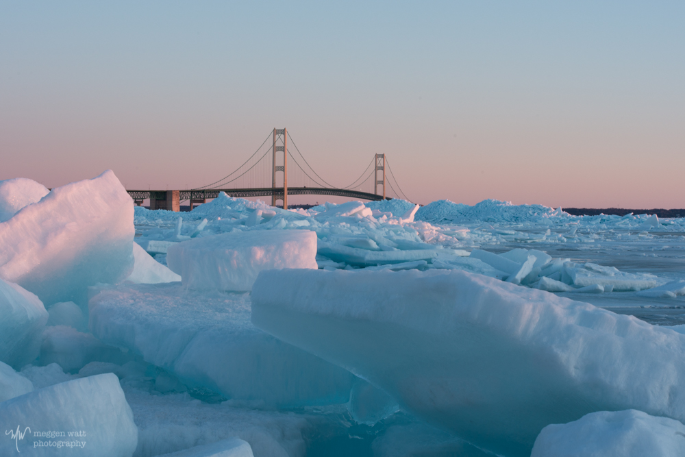 Sunrise Mackinac Blue Ice-5434