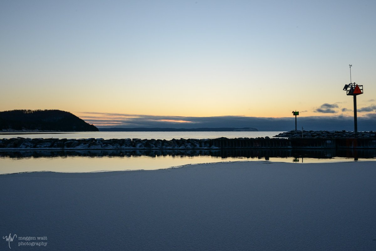 Sunset At Harbor-5759