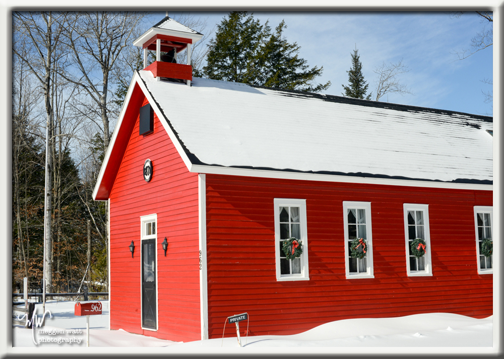 TLR-20160215-red Schoolhouse Snow