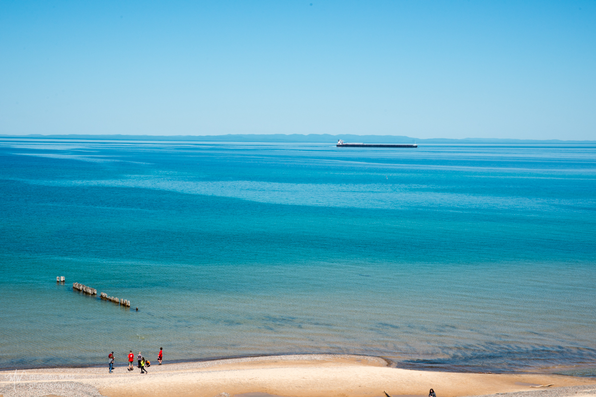 View From Whitefish Point Lighthouse-6110