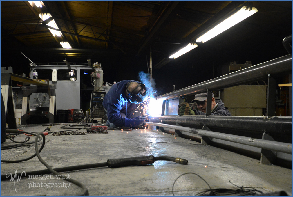Welding The Joy-9153-frame