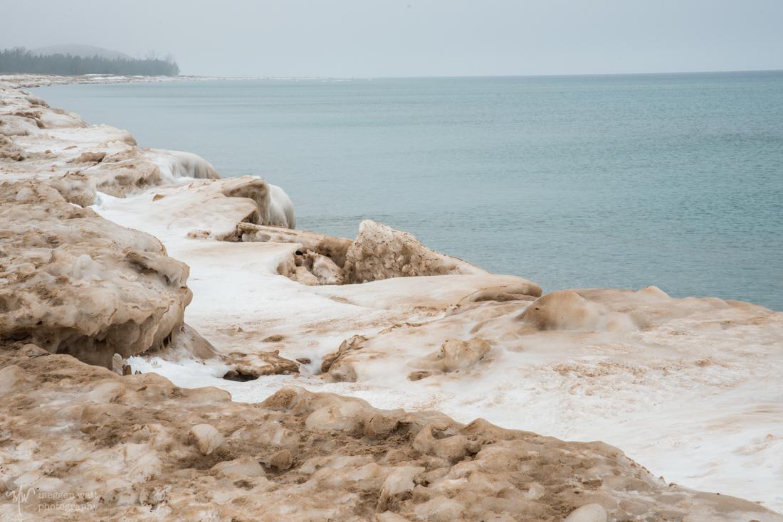 Sleeping Bear Point Snow-8932