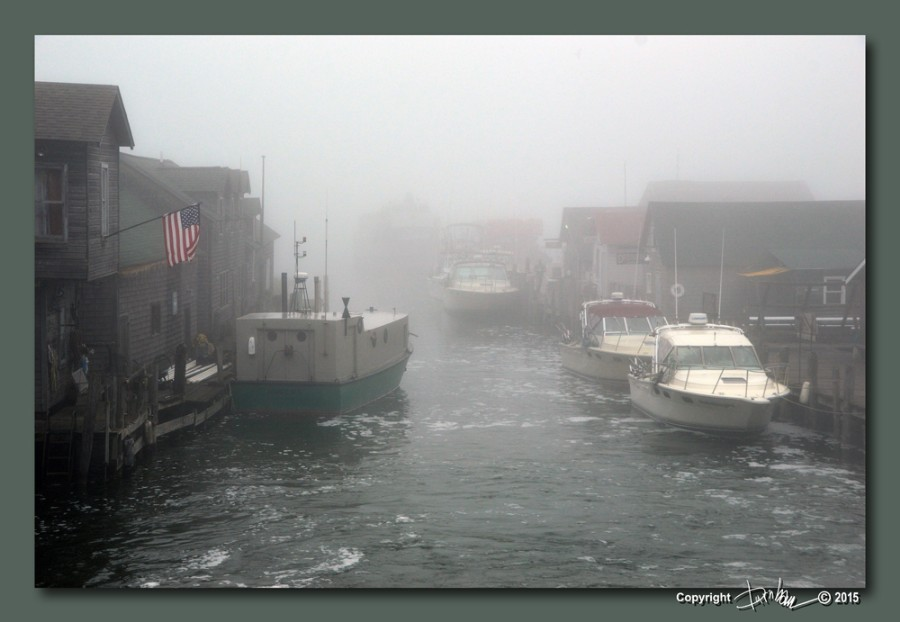 A Foggy Day in Ole Fishtown