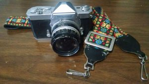 Nikon FT complete with funkidelic 70's strap
